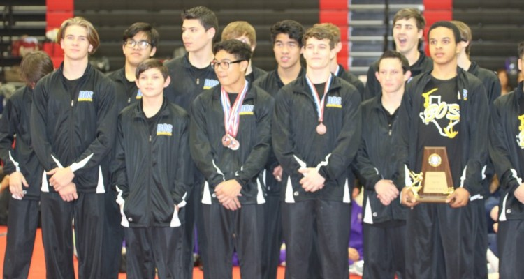 Photo for The Boy's Gymnastics Team are STATE bound after taking 3rd at Regionals!